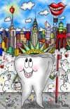 """Amazing Animation """"Dental Cityscape"""""""