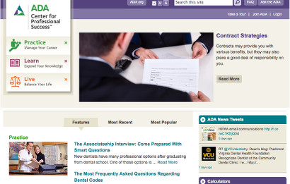 ADA Introduces New Professional Success Website