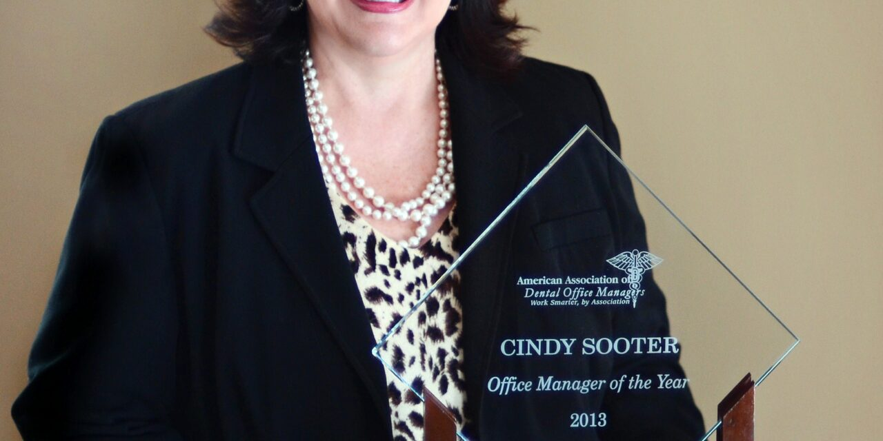 AADOM Names Sooter Office Manager of the Year