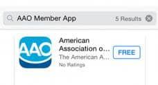 AAO Launches New Member App