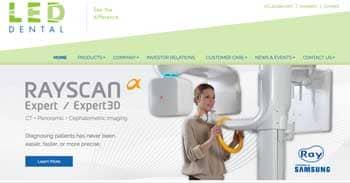 LED Dental's New Website Showcases Growing Product Portfolio