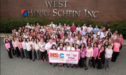 "Henry Schein's ""Think Pink, Practice Pink"" Program Raises More Than $173,000"
