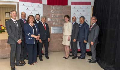 "Stony Brook University Dental School Unveils ""Henry Schein Cares Reception Area"""