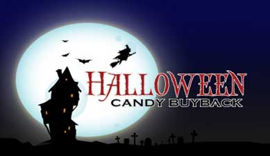 Registration Open for 2015 Halloween Candy Buyback Program