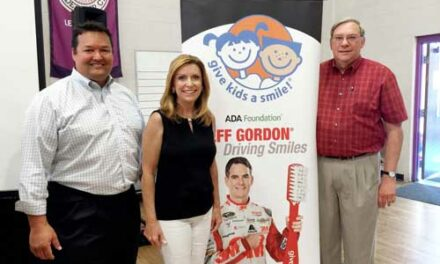 CareCredit Funds Give Kids a Smile NASCAR Oral Health Event