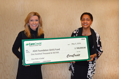 CareCredit Marks 10 Years of Support to the ADA Foundation's Give Kids A Smile Fund