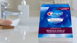 ADA Seal of Acceptance Awarded to 3D White Glamorous White Whitestrips