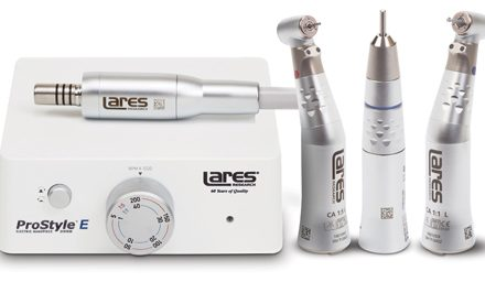 Lares Research Introduces New Electric Handpiece System