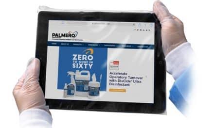 Palmero Healthcare Introduces Tablet Barrier Sleeve