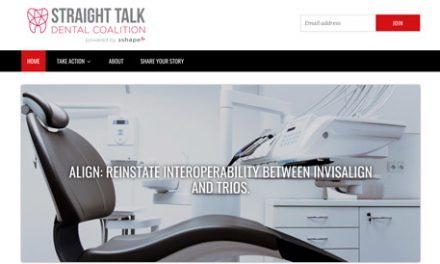 3Shape Launches Straight Talk Dental Coalition to Call for Reinstatement of TRIOS and Invisalign Interoperability