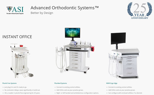 ASI Launches Dedicated Website for Its Orthodontic Carts