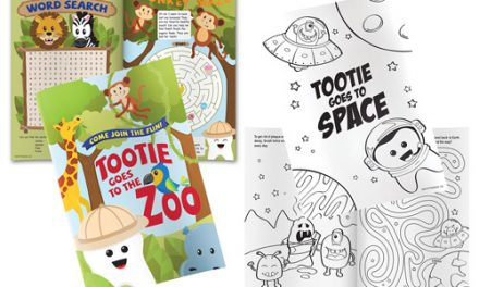 Practicon Offers Oral Health Activity Books for Young Patients