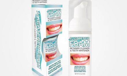 New Clear Aligner and Retainer Cleaning Foam Available from Smile It's Viral