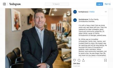 Georgia Orthodontist Adam White Dies in Accident