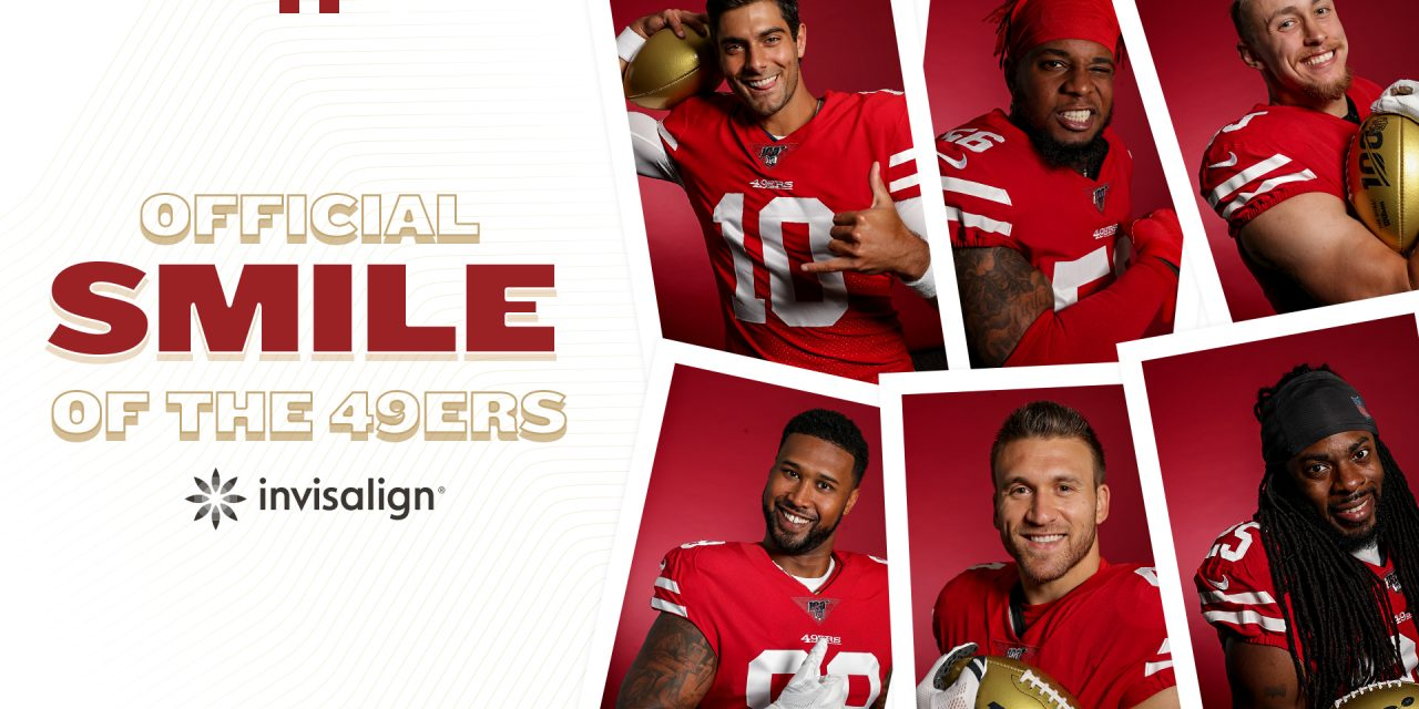 Align Technology and San Francisco 49ers Team Up