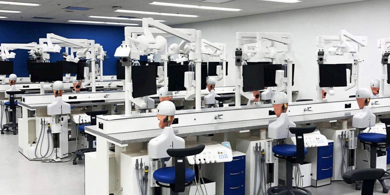 UMKC Dental School Outfitted with Dentsply Sirona Simulator Units