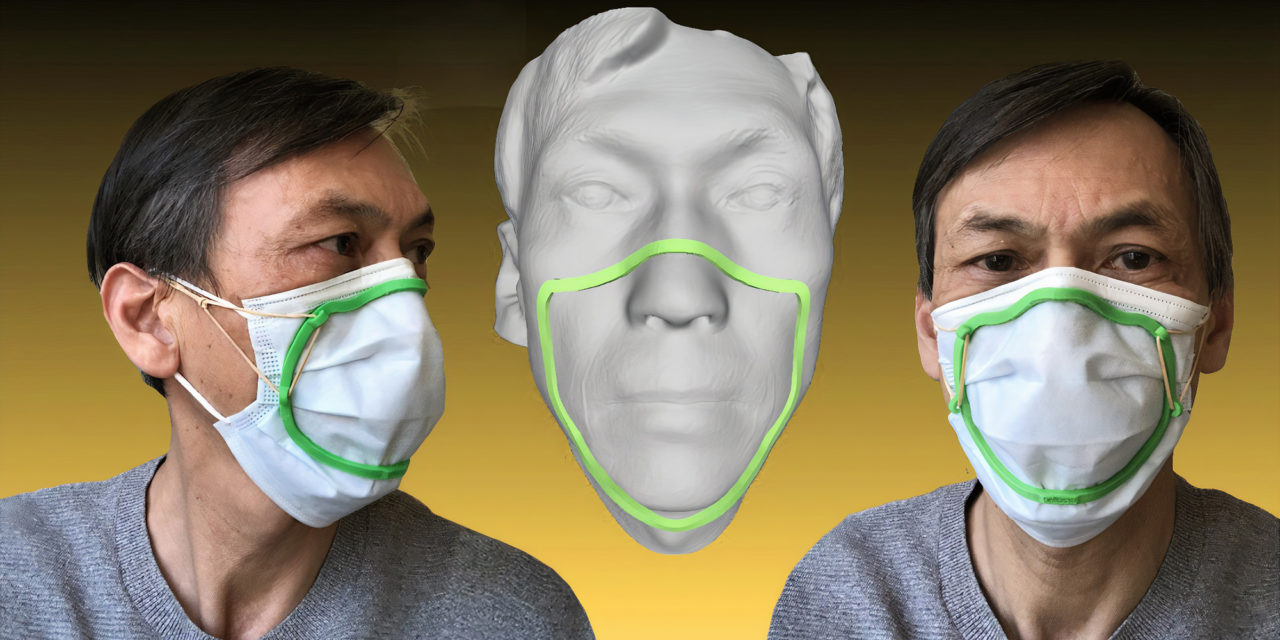 Dental Lab Offers 3D Printed Custom Face Mask Fitter