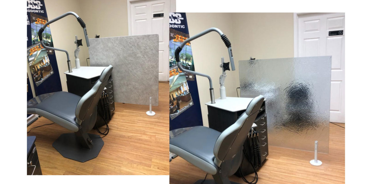 Ross Orthodontic Launches Privacy Wall Line