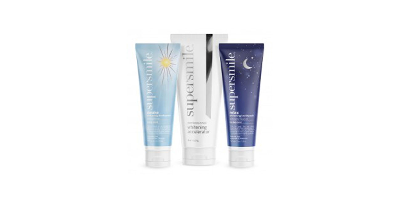 Supersmile Rolls Out Awake and Relax Whitening Toothpastes