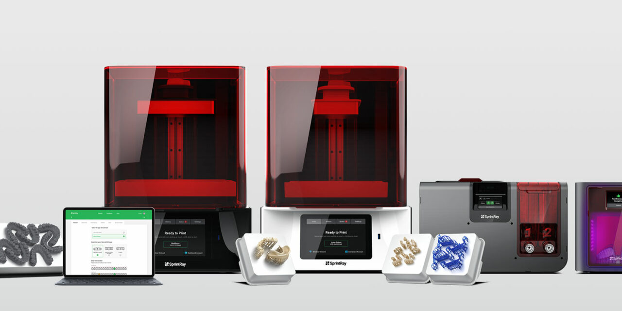 SprintRay Rolls Out 3 New Dental 3D Printing Products
