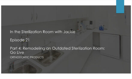 Part 4: Remodeling an Outdated Sterilization Room: Go Live