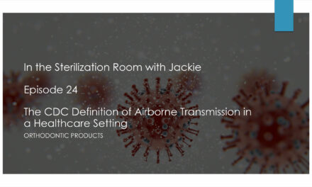 The CDC Definition of Airborne Transmission in a Healthcare Setting