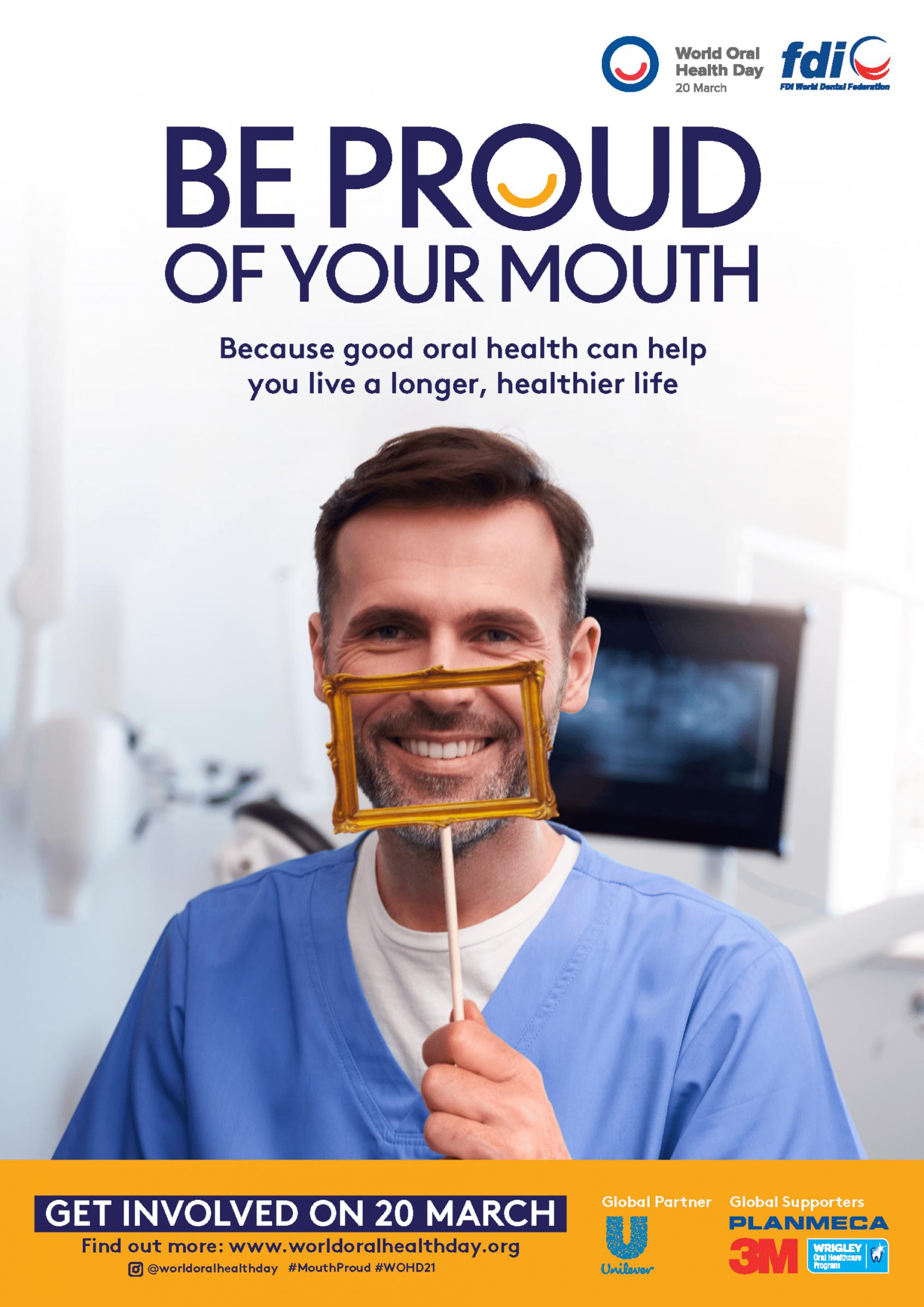 FDI World Dental Federation Celebrates World Oral Health Day 2021 to 2023