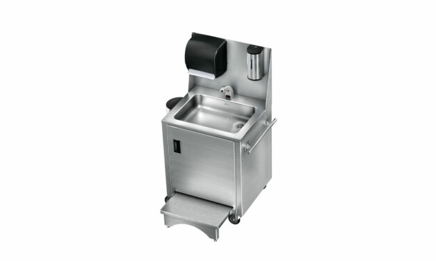 Just Manufacturing Introduces Portable Hand Wash Sinks