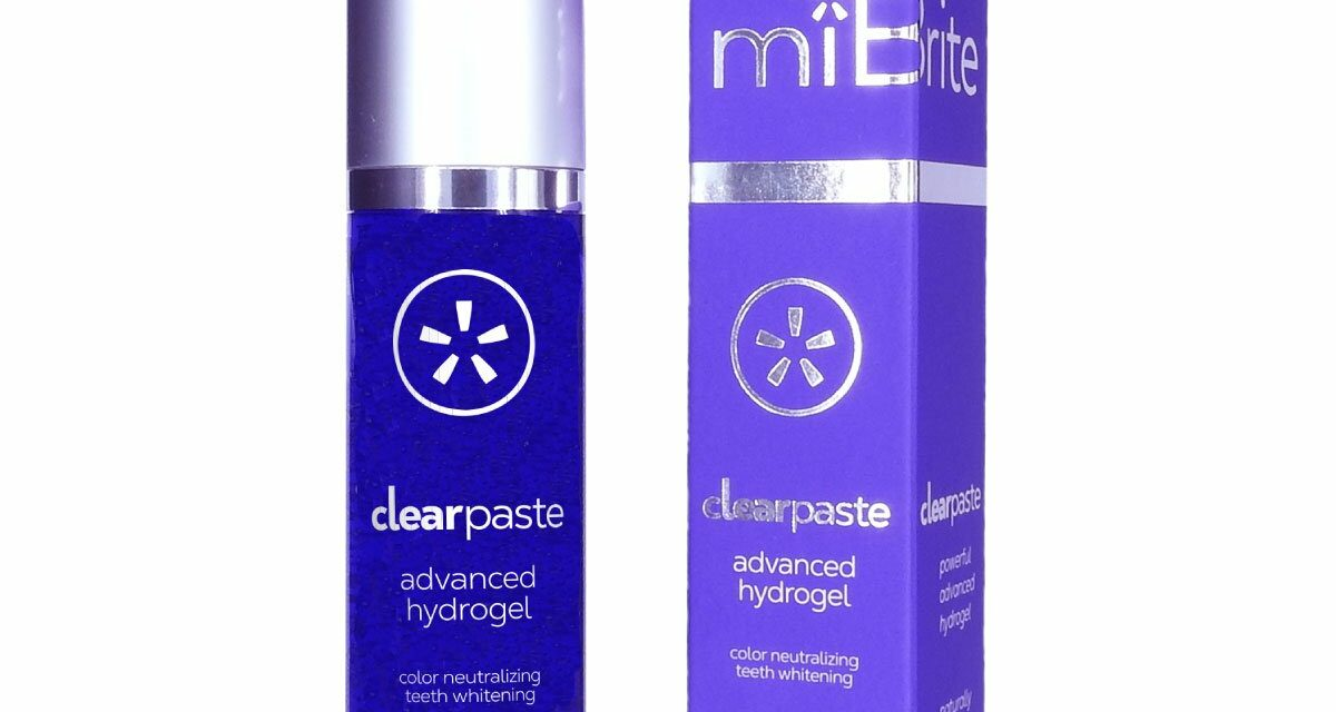 miBrite Launches Purple Peroxide-Free Tooth Whitening
