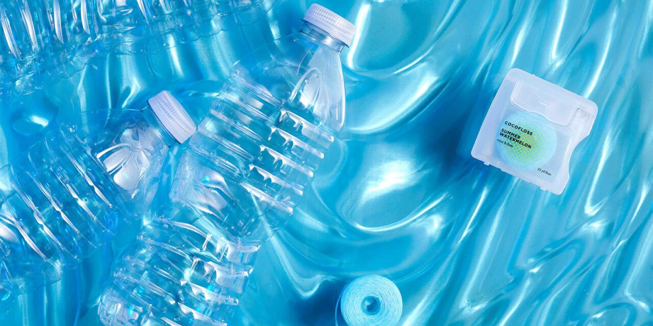 New Cocofloss is Recycled from Water Bottles to Reduce Plastic Waste