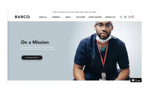Barco Uniforms Launches E-Commerce Site