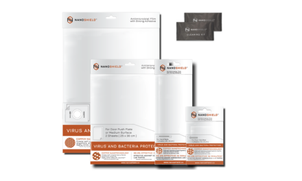 Copper Nanoshield Offers Protection from Bacteria and Viruses
