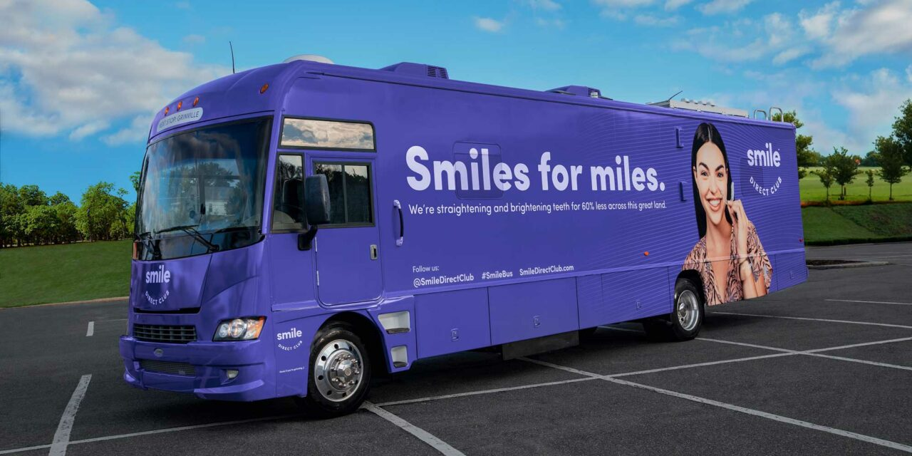 SmileDirectClub SmileBus Concept Receives U.S. Patent